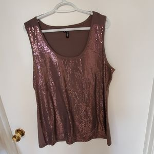Maurices sequined tank